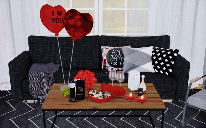 The sims 4 valentines day set