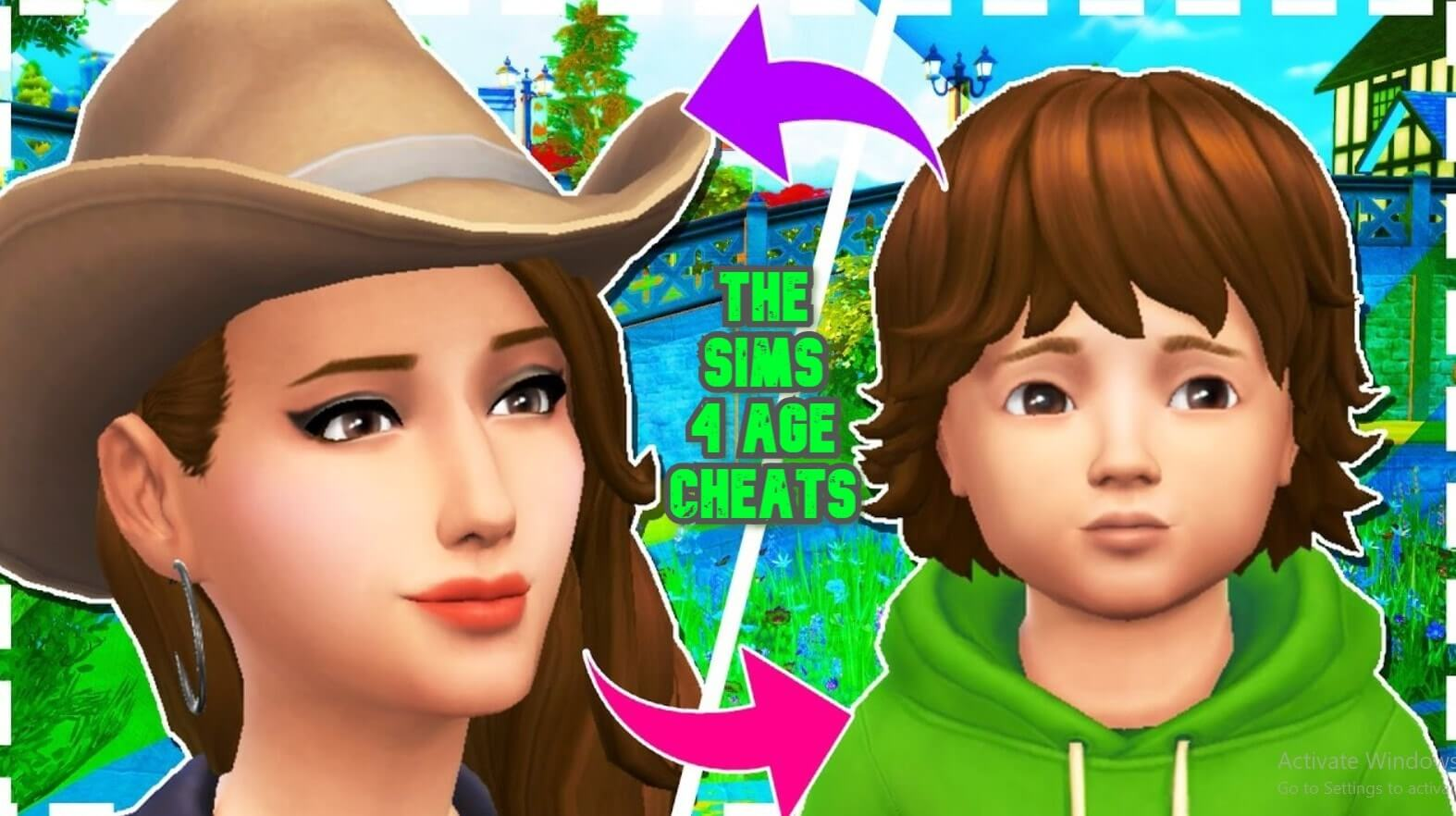 The Sims 4 Age Up Cheat Stop Aging Youth Potion Lifespan