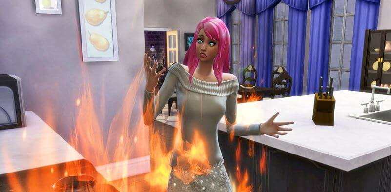 sims 4 death by fire cheat